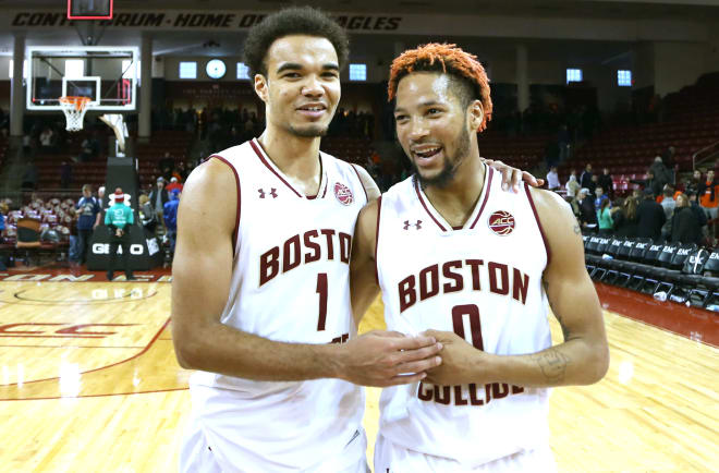 Jerome Robinson and Ky Bowman