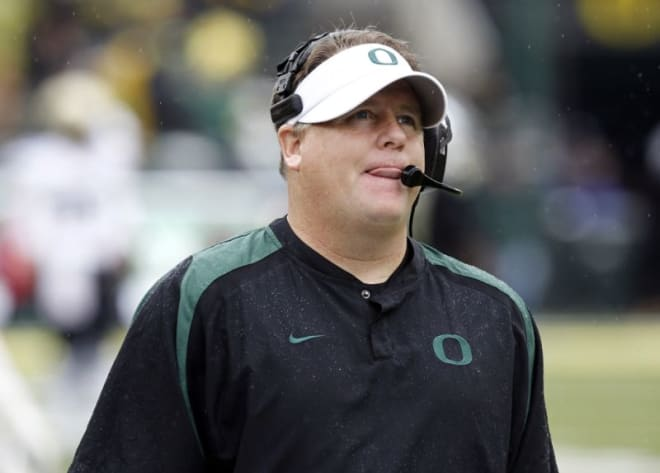 Spurrier shoots down Chip Kelly to Gators reports