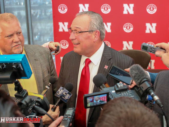 Bill Moos said on Tuesday Nebraska's assistant basketball coaches will make a combined $1 million under Fred Hoiberg.