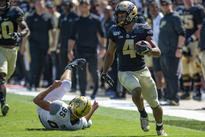 Rondale Moore continues his status as one of the NCAA leaders in receiving and all-purpose yardage categories.