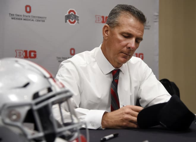 Ohio State places Meyer on administrative leave