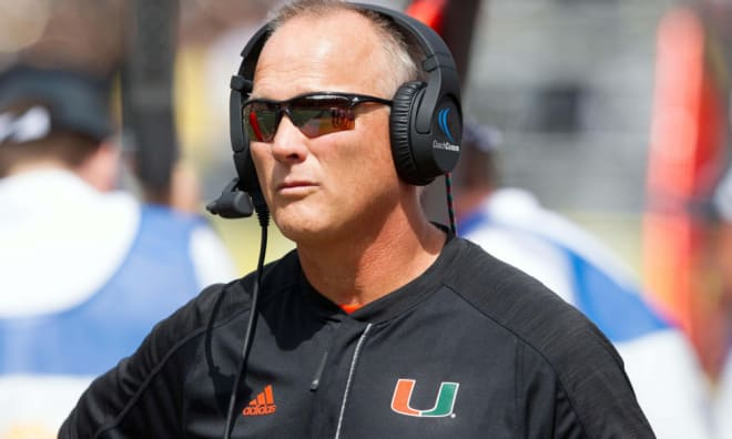 Miami Names Manny Diaz Head Coach After Mark Richt Steps Down