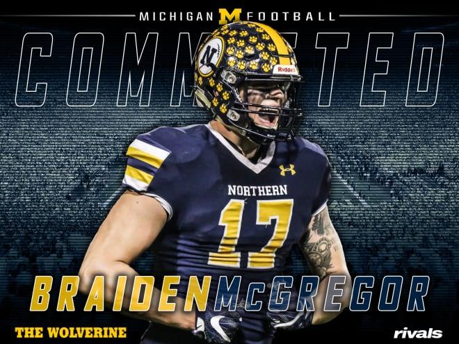TheWolverine.com - Michigan Wolverines Football Recruiting: Braiden McGregor Commits To U-M