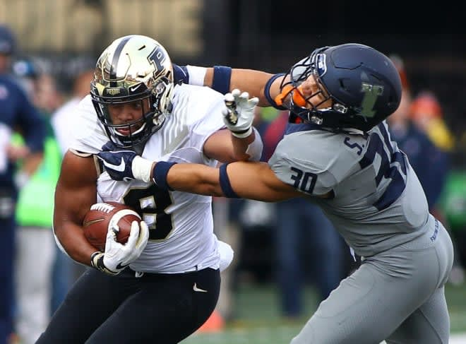 Markell Jones and the Boilermakers ran roughshod over Illinois last season, taking a 46-7 decision in Champaign.