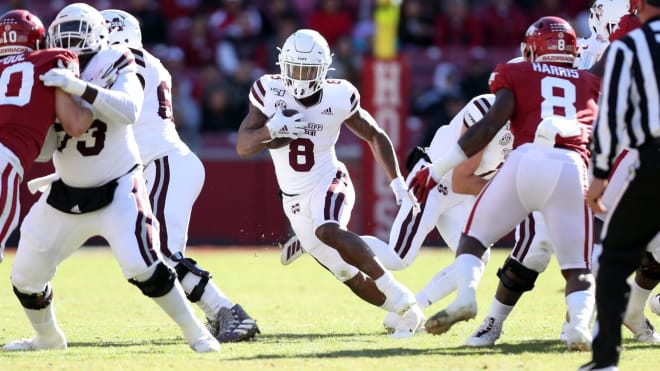 Arkansas could not stop Kylin Hill on Saturday.