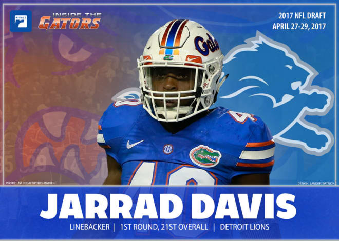 e0382493 GatorsTerritory - Detroit Lions select Davis with 21st overall pick ...