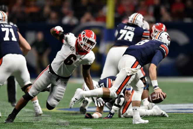 Second Georgia player arrested alongside LB Natrez Patrick on Saturday night