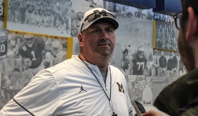 Michigan OL coach Greg Frey hired by Florida State