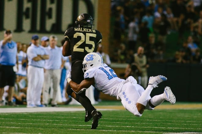 Struggling ith Wake's RPOs in the first half is one of our takeways from UNC's loss to Wake Forest on Friday night.