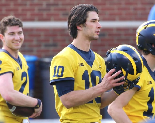 timeless design abc5b 18d32 TheWolverine - Harbaugh: Plan Is For Shea Patterson, Dylan ...
