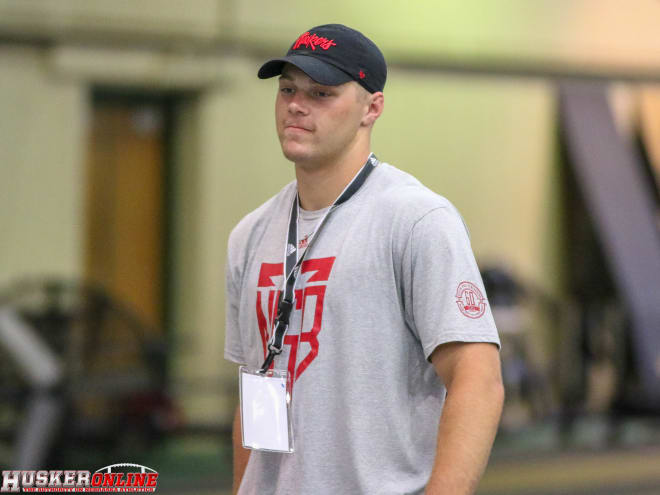 North Platte walk-on Bryson Krull has never been coached on how to punt, but the position could end up being his new calling at Nebraska.