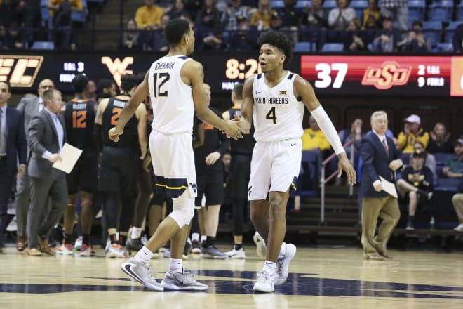 No. 20 West Virginia falls at Texas