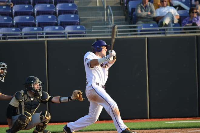 UCF erases a 7-1 deficit to win 8-7 in eleven innings over ECU despite a Charlie Yorgen grand slam..
