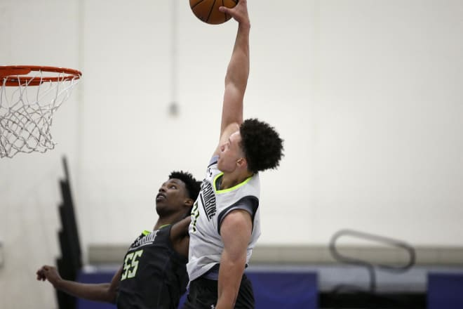 Nebraska's Isaiah Roby helped boost his stock with a solid performance at the NBA Draft Combine in Chicago last week.