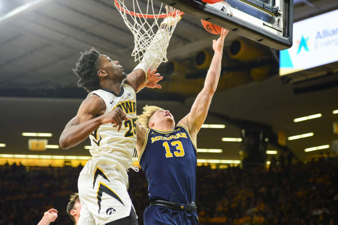 Hawkeyes Rough Up 5th Ranked Michigan
