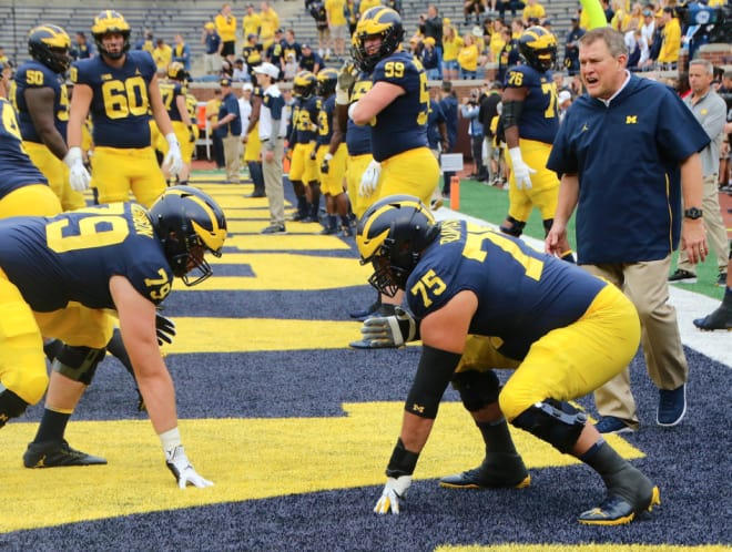 TheWolverine - News & Views: Ed Warinner Reveals Updated Two-Deep On The Offensive Line