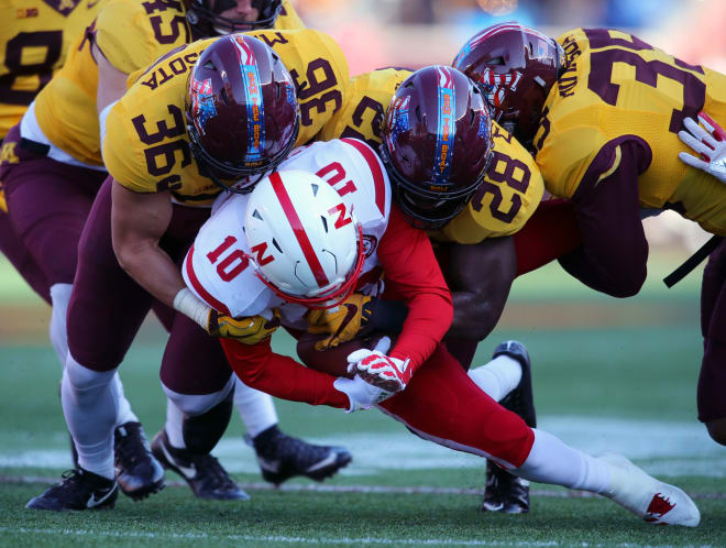 Minnesota rocked Nebraska 54-21 in Minneapolis last season, as the Gophers rushed for 409 yards in TCF Bank Stadium.