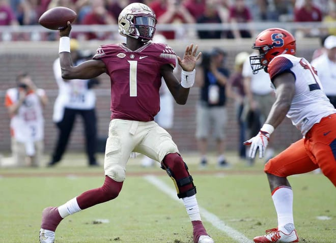 Sophomore quarterback James Blackman is expected to be the Seminoles' starting QB in 2019.