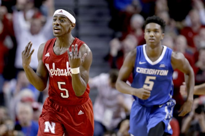 Nebraska had one of its best offensive performances of the season en route to snapping a seven-game losing streak to in-state rival Creighton on Saturday night.