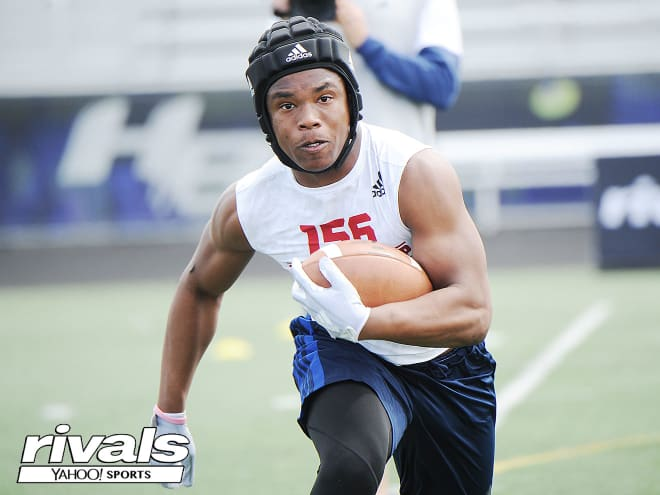 Ohio running back Corey Kiner holds a Michigan offer.