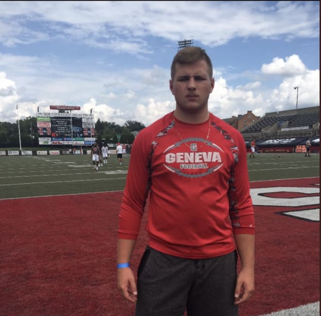 TheKnightReport.net - Ohio OL Sam Davis talks Rutgers offer, relationship with Okruch