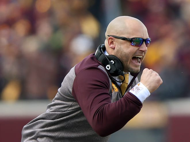 Minnesota finished 2019 as No. 10 in the AP and Coaches polls, No. 13 in SP+, and No. 15 in Massey Composite.