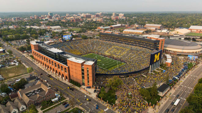 Michigan Wolverines athletics released its latest COVID-19 testing numbers.