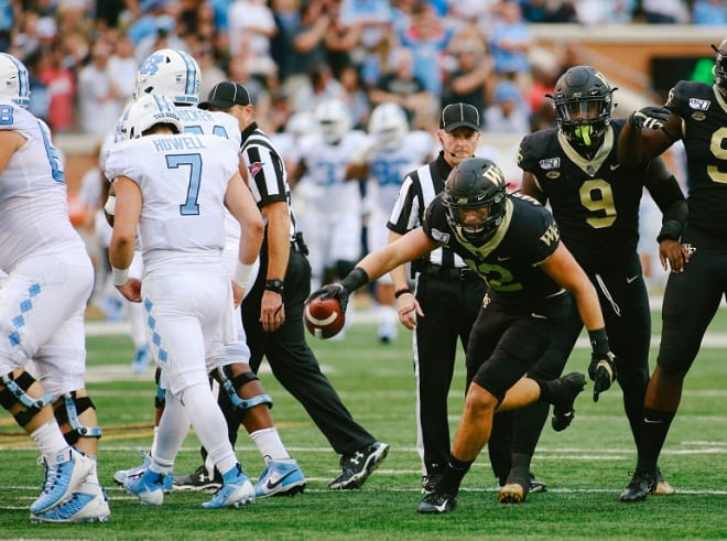 Howell and the Heels struggled in the first half.