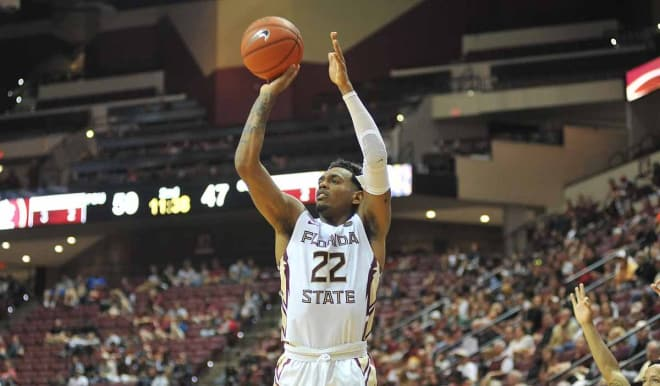 Junior guard Xavier Rathan-Mayes was in contention for a triple-double in Florida State's win over Nicholls State on Thursday.