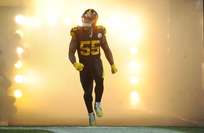 Former Michigan Wolverines football star and current Pittsburgh Steelers standout Devin Bush will run the show on defense in 2020.