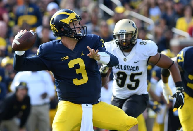Ex-Michigan QB Speight transferring to UCLA