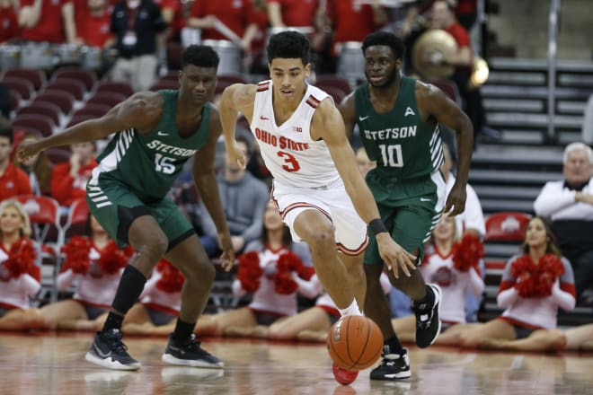 The Buckeyes were way too much for Stetson on Monday night