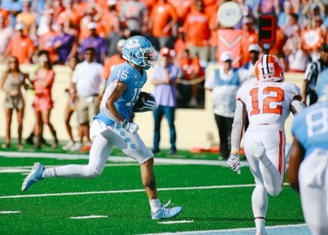 Beau Corrales (pictured) and the Tar Heels were quite prolific in the passing game this season, as the stats reveal.