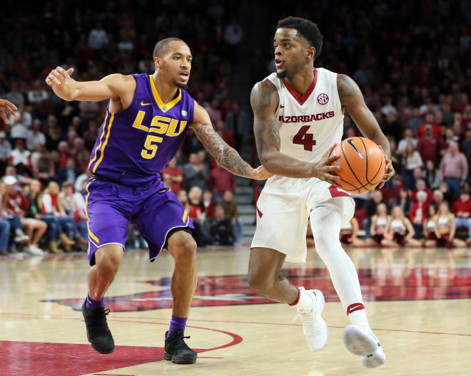LSU basketball: Tigers finish season sweep, defeat Arkansas 94-86