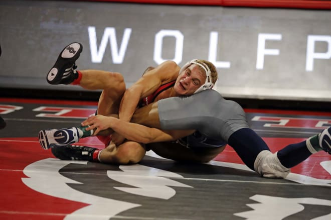 Hidlay's 10 bonus-point victories and five technical falls are both tied for the team lead.