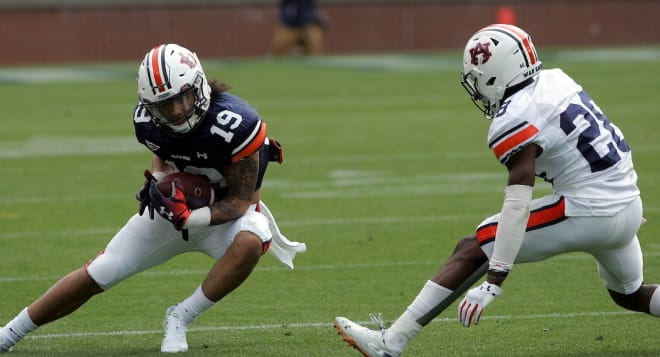 AuburnSports - Hill making some 'wow plays' at WR