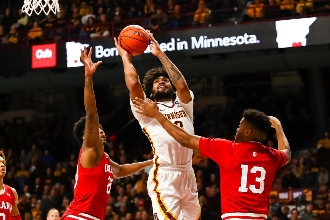 Jordan Murphy averages a double-double with his 15.0 points and 11.9 rebounds per game.