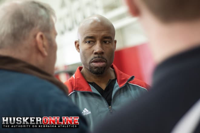 Wide Receiver coach Keith Williams