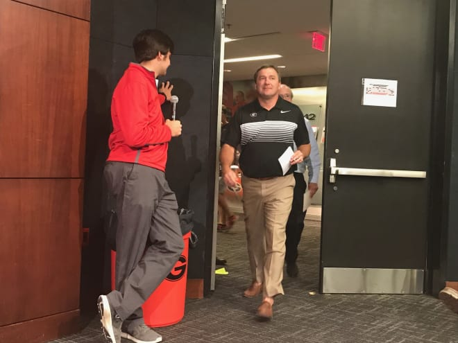 Kirby Smart had a lot on his mind during Monday's preseason press conference.