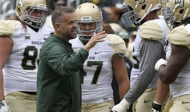Baylor head coach Matt Rhule is in the early stages of building his fourth recruiting class.