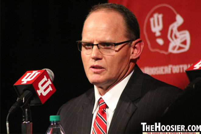 Tom Allen isn't aware of IU ever receiving tips from Wake Forest's former radio announcer.
