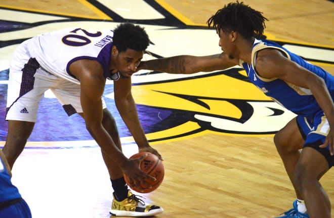 Ever improving Bitumba Baruta and ECU look for back to back wins on the road when they travel to Tulsa on Wednesday.