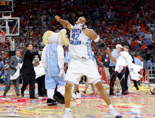 THI looks at the top UNC basketball teams ever, focusing here on the 2005 Tar Heels.