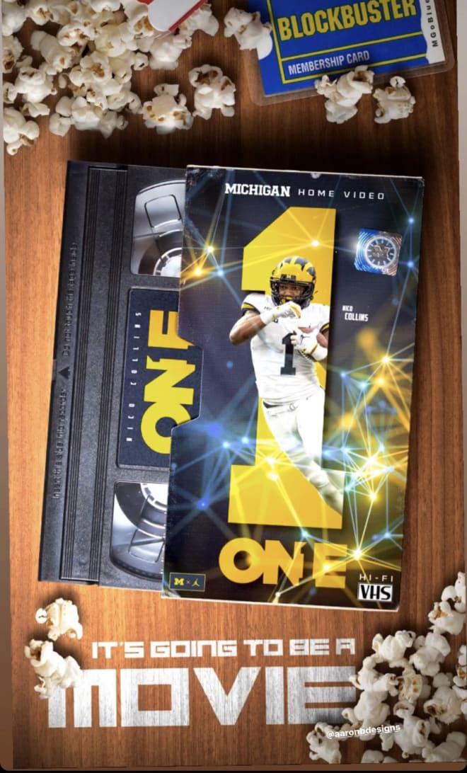 Michigan Wolverines football's Nico Collins