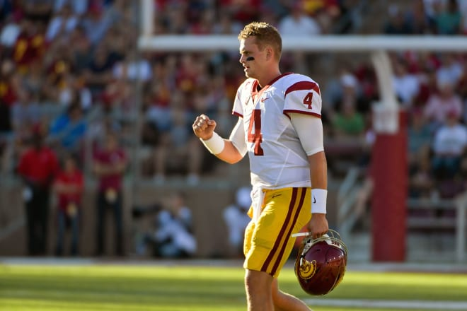 Former USC quarterback Max Browne will provide Trojans football analysis on multiple platforms for TrojanSports.com this fall.
