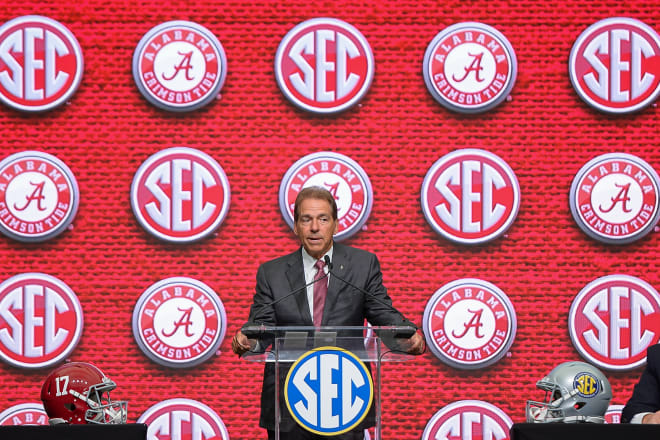 What does Nick Saban want his legacy at Alabama to be?