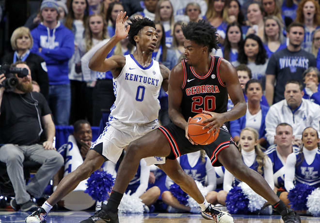 Kentucky freshman Tyrese Maxey has declared for the NBA Draft