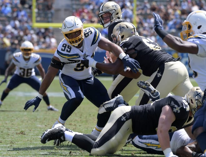Former Irish defensive lineman Jerry Tillery remains the only Irish early enrollee to become a first-round NFL Draft pick.