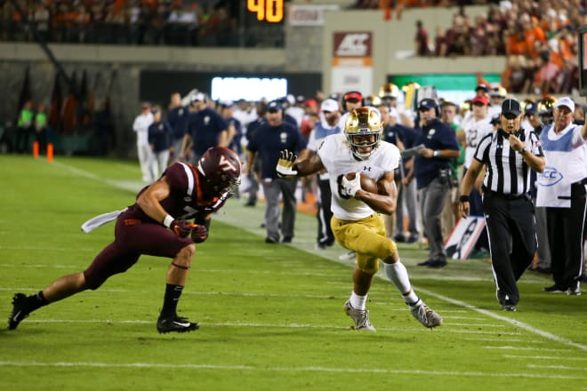 3 takeaways from Notre Dame's win over Virginia Tech