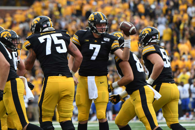 Is Spencer Petras ready to take control of the Iowa offense?